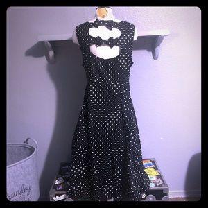 Retro Chic by Torrid Polka Dot Pinup Dress